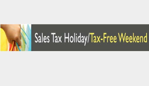 Texas Sales Tax Holiday/Tax-Free Weekend, Aug. 9-11 (6/27/19)