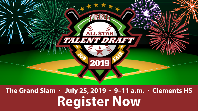 Registration open for FBISD's Grand Slam job fair event (7/16/19)