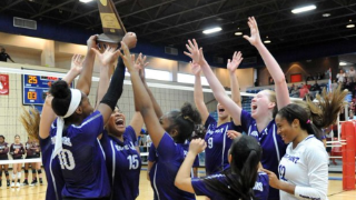Ridge Point High School volleyball team to play in the state 6A tournament (11/19/2019)