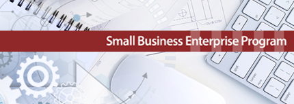 Small Business Enterprise Program Graphic Heading
