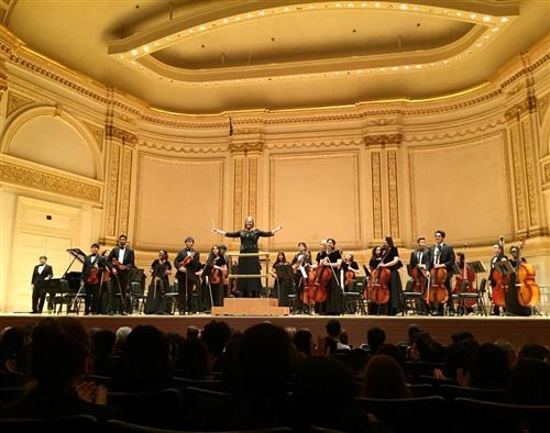THS Orchestra at Carnegie Hall