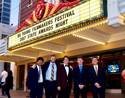 6A UIL Film Competition Finalists