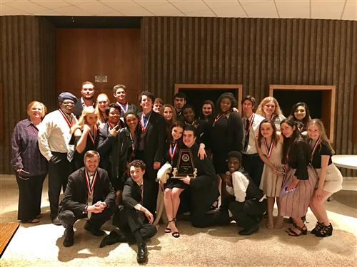 UIL One Act Play, HOLY GHOSTS, District winners