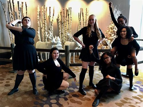 "Dance competitors earn 3 Superior ratings in Dance Ensemble with  ""Revolting Children,"" choreographed by Isabella Jimenez"