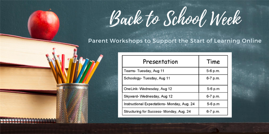 Back to School Week: Parent Workshops
