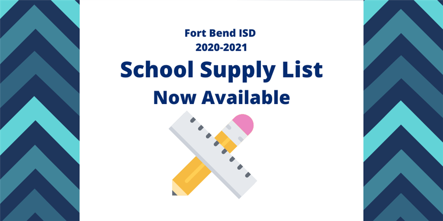 Click Here to View Supply LIst