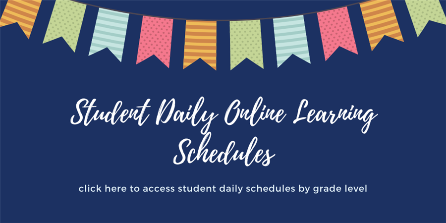 Student Daily Schedules