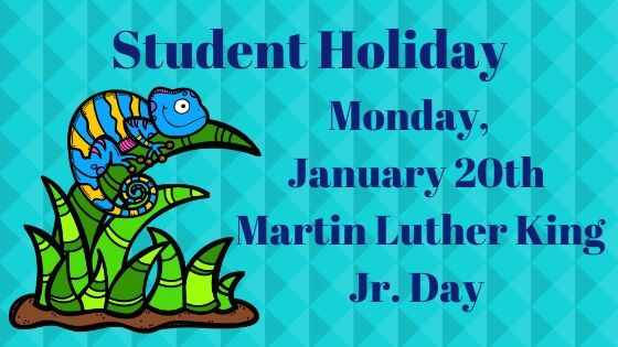 Student Holiday-- MLK Day