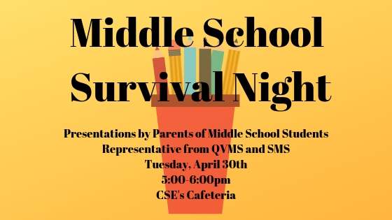 Middle School Survival Night