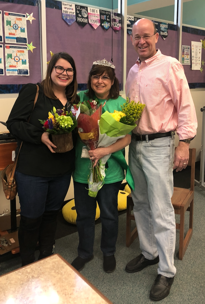 Congratulations to Catherine Seilkop,  Teacher of the Year for the 19-20 school year