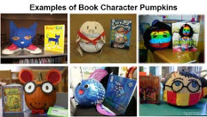 Pumpkin Book Character Contest Video of Entries