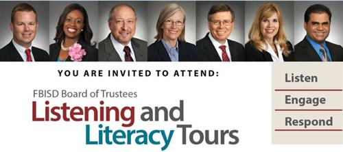 Board of Trustees / Listening and Literacy Tours