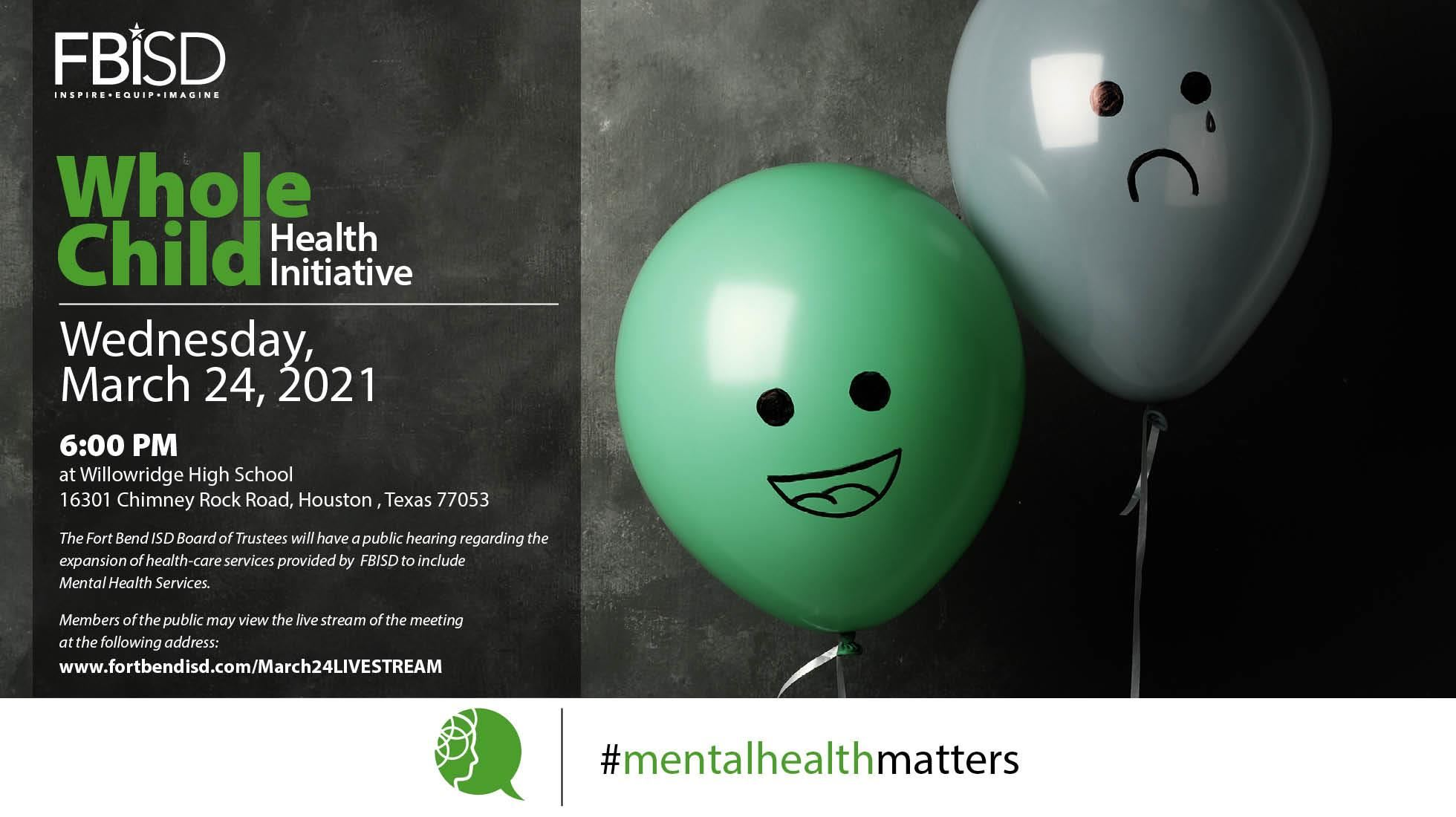 Mental Health Services Public Hearing