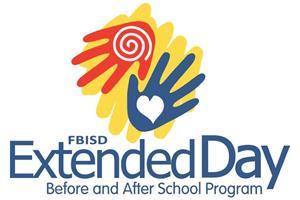 Extended Day Logo with 2 hands