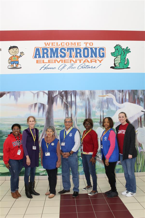 Foster Grandparents at Armstrong Elementary